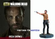 The Walking Dead Collector's Models Collection #01 Rick Grimes Eaglemoss
